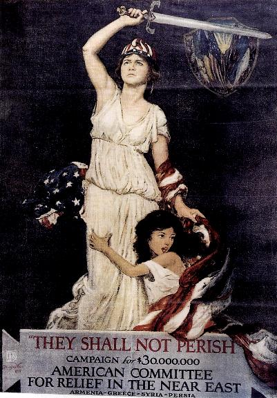 A poster by the American Committee For Relief in the Near East. PHOTO: http://bit.ly/a3Lk1g