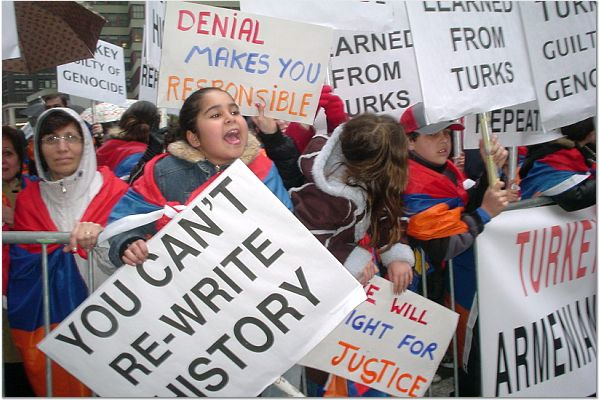 Armenian Protesters