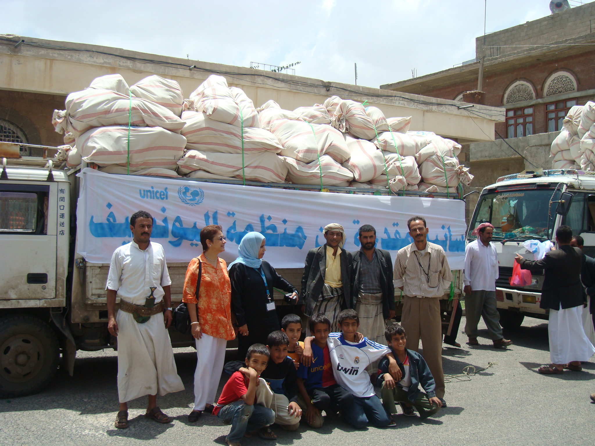 PHOTO: IRIN.ORG Families across Yemen are protesting for goverment reforms. One of their major complaints is lack of food, with almost half the country below the poverty line.