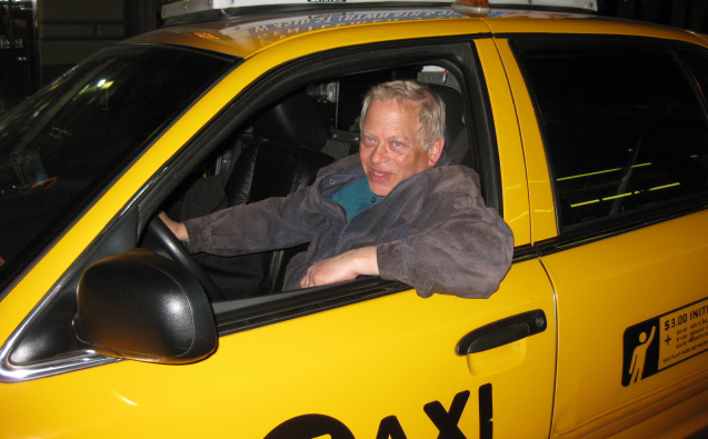 Bill Lindauer drove a yellow NYC taxi for 30 years. Now organizes taxicab drivers and fight for their rights.