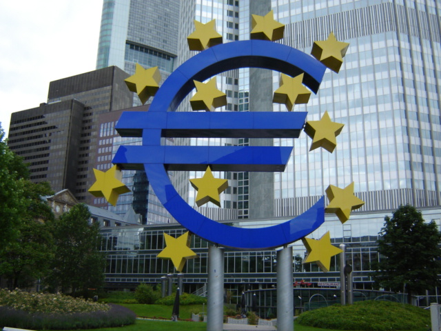 The European debt crisis threatens the value of the euro. Courtesy of Wikimedia Commons.