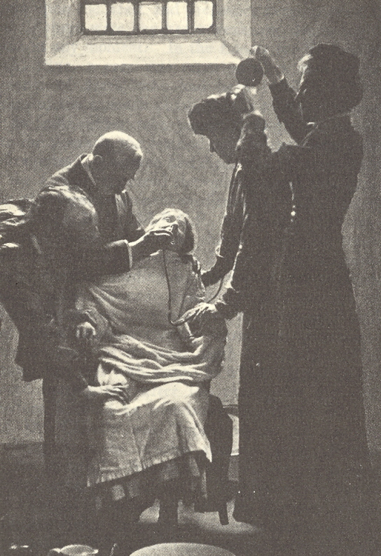 Imprisoned suffragettes in both the United States and Britain were often force-fed during their hunger strikes. PHOTO: Wikimedia Commons