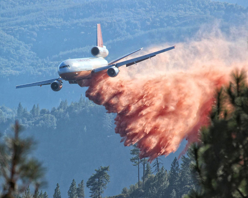 The Yosemite Rim Fire, which burned for more than two months, cost California $100 million in firefighting services, road and trail recovery and environmental damage. PHOTO: Mike McMillan - USFS
