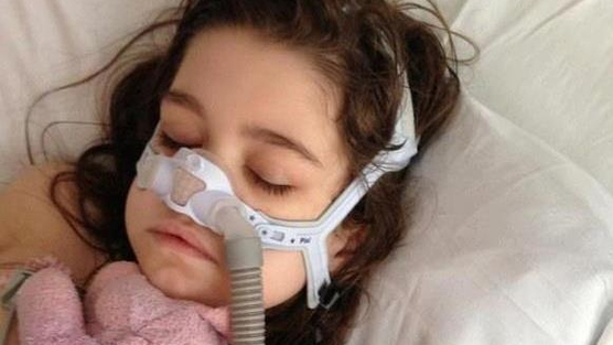Ten-year-old, Sarah Murnaghan received an adult lung transplant. She is currently recovering at home after her second successful surgery. PHOTO: Change.org