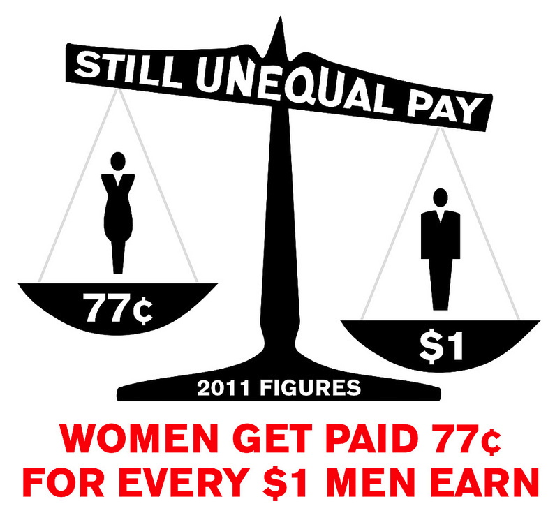 Even though women do a lot of work inside and outside of the house, they still usually get paid less than men. IMAGE: <em>Miami Herald</em> 2012