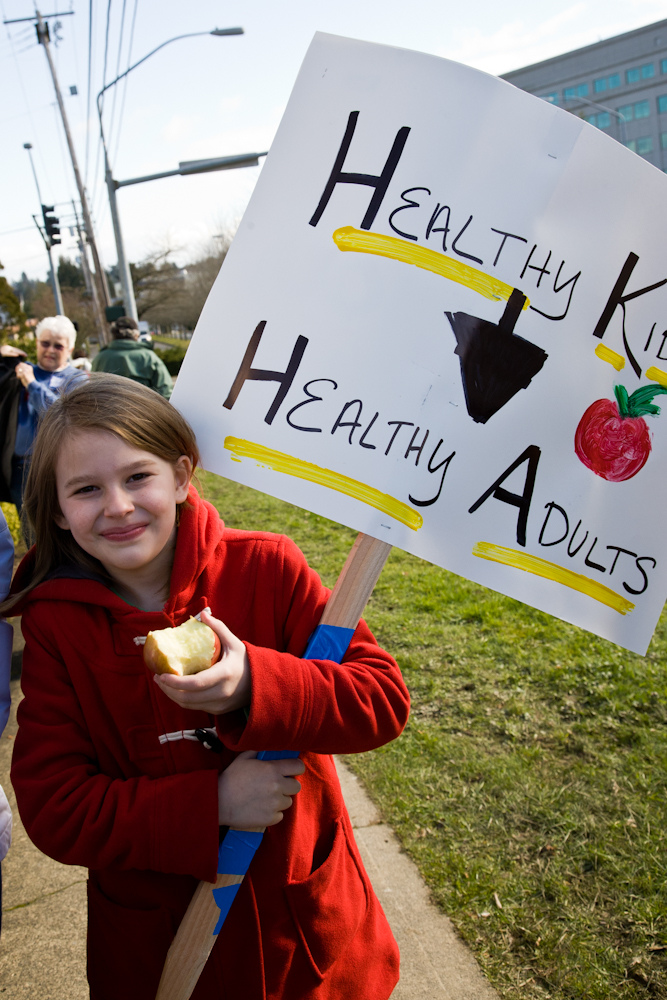 Under the Affordable Care Act, insurers will also cover two dentist visits and one eye-doctor visit per year for children under 19. PHOTO: The Children's Alliance