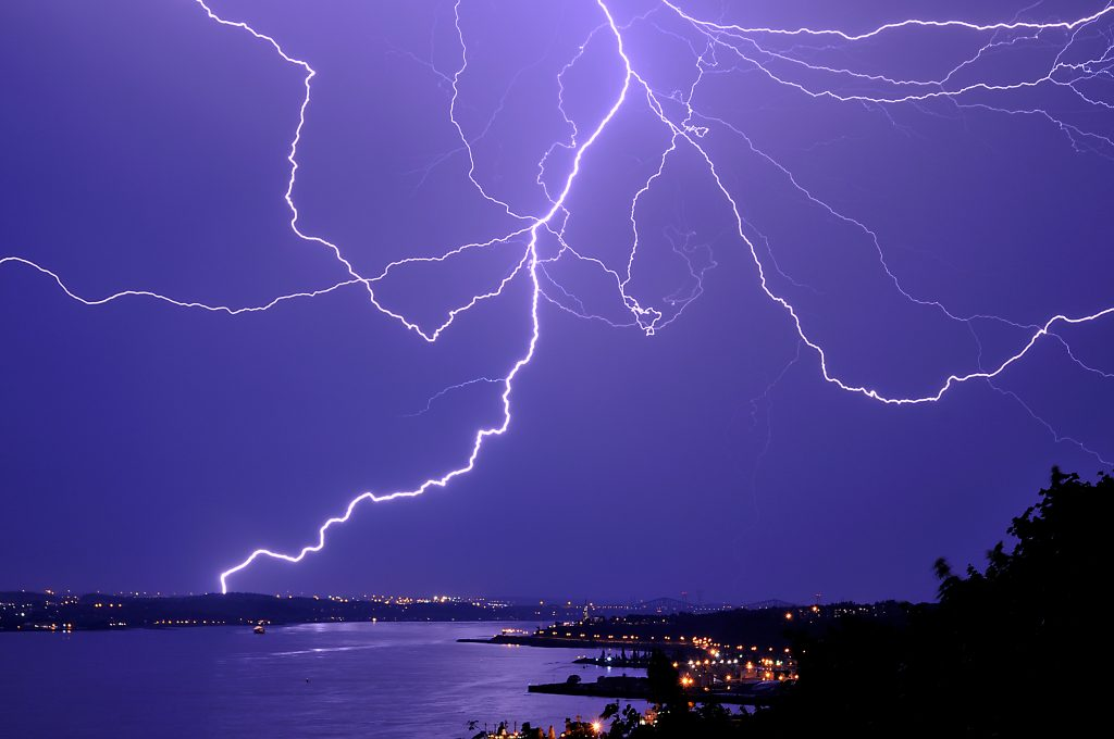 Some of the observed effects of a lightning strike on the human body are memory loss, insomnia and depression. PHOTO: Wikimedia Commons