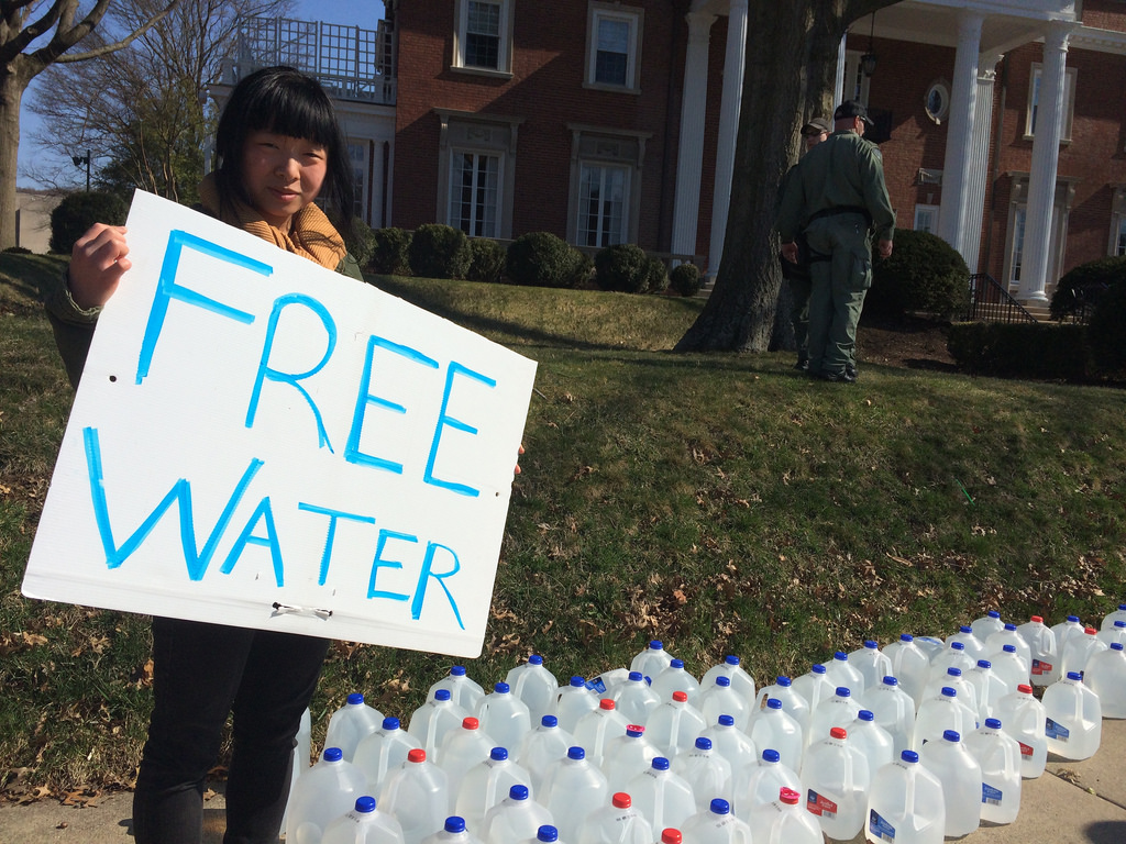"""On January 9, 2014, """"do not use"""" warning was issued in nine West Virginia counties, informing 300,000 residents that their water was not suitable for anything but flushing toilets. PHOTO: Mountain Justice Photos"""