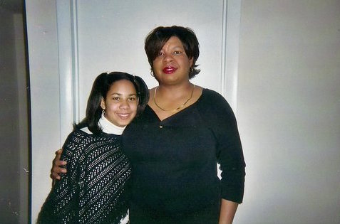Nardyne Jeffries poses with her daughter Brishell. PHOTO: Nardyne Jeffries