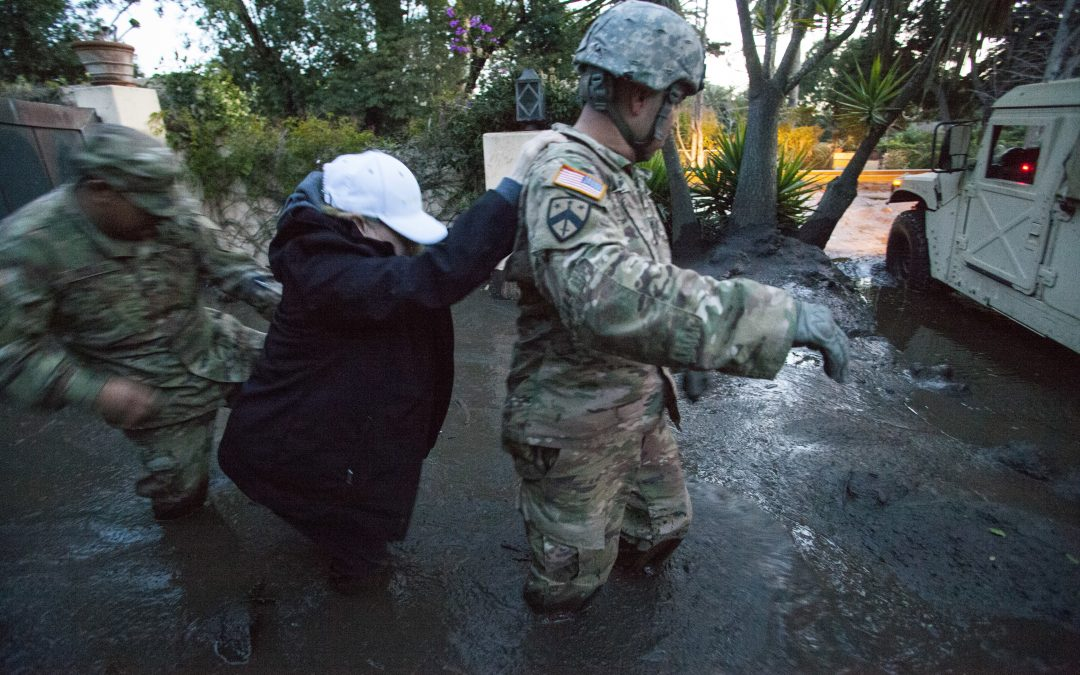 Mudslides Replace Wildfires in California
