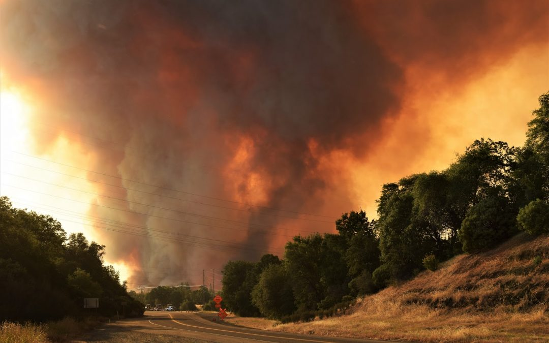 California Wildfires Exacerbated by Climate Change