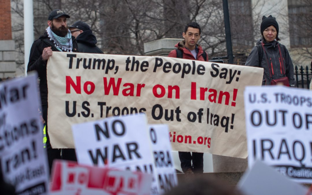 Iran Protests and the Evolving Antiwar Movement