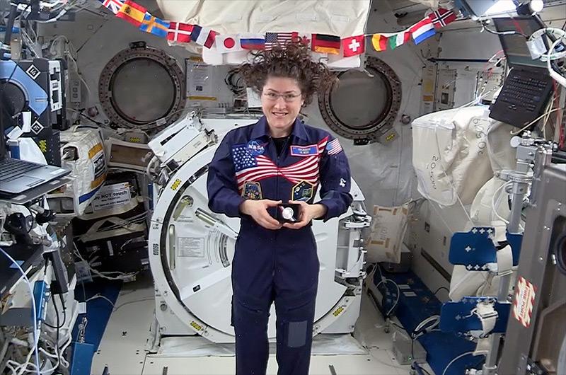 Female NASA Astronaut Makes History