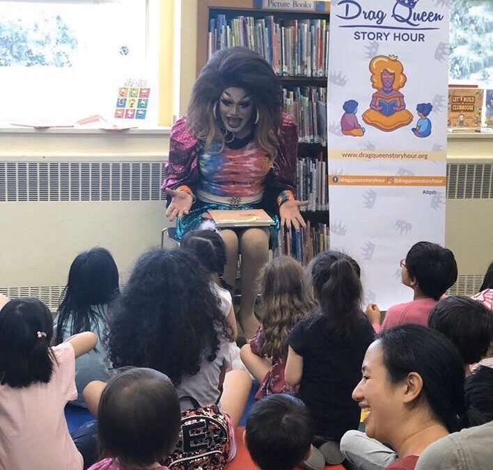 Drag Queen Story Hour Strives to Teach Kids Acceptance and Diversity